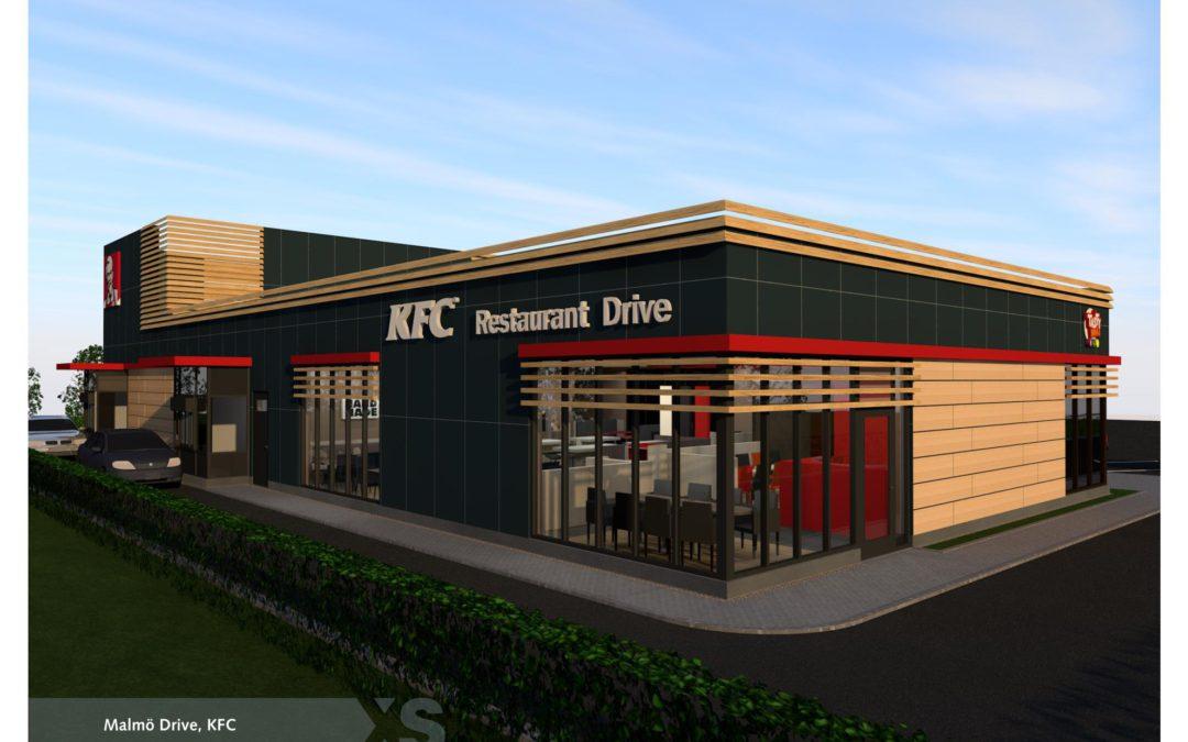 KFC etablerar sig i Sverige