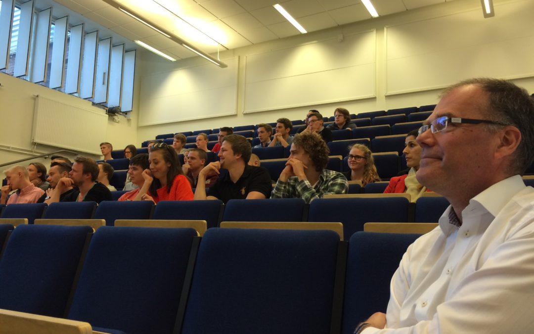 Prevecon besökte studenterna på LTH
