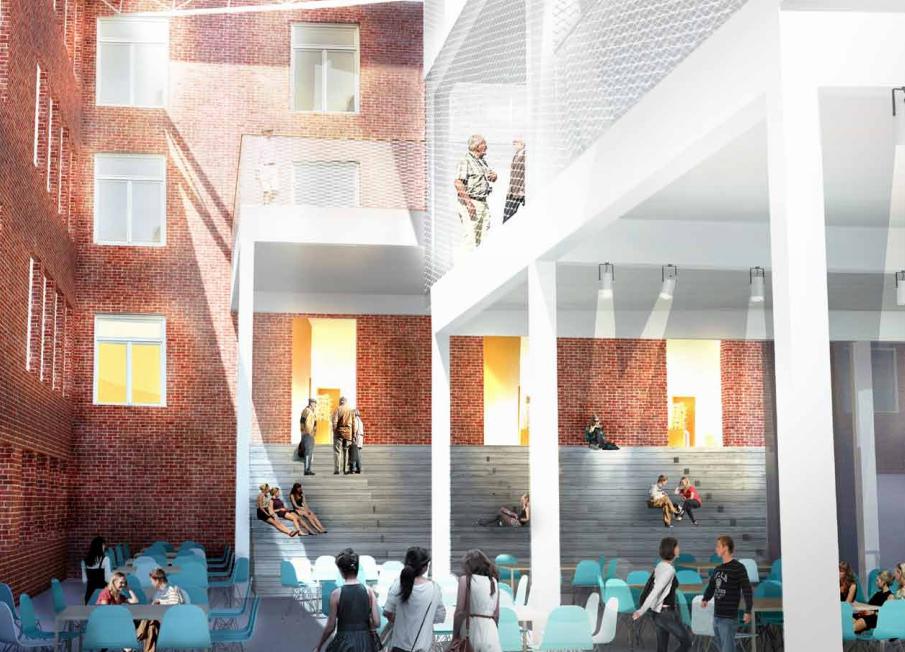 Bäckängsgymnasiet i Borås får nytt bibliotek