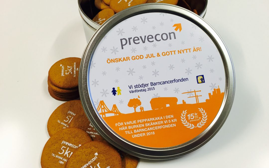 Prevecons kunder åt pepparkakor för 30 000 kr, Tack!